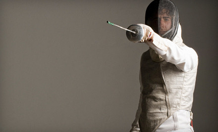 Introduction to Foil or Beginning Youth Foil Class (a $20 value) - Swordplay Fencing Academy in Concord