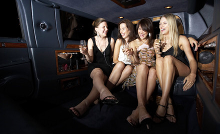 4 Hours of Limo Service for up to 10 People on a Weekday (a $440 value) - Luxury Limousine Service in