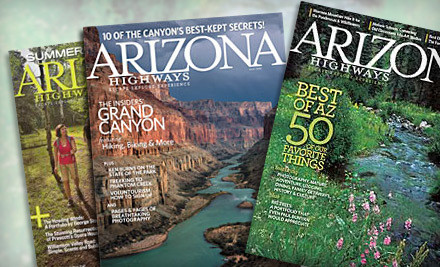 1-Year Subscription (a $24 value) - Arizona Highways in
