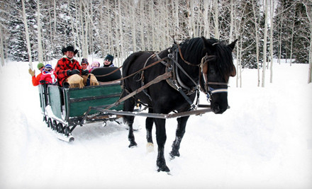45-Minute Wagon or Sleigh Ride for 2 - Blue Sky Adventures in Wanship