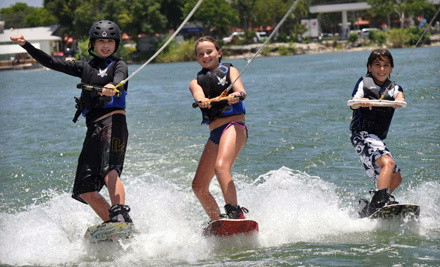 1-Hour Wakeboard, Waterski, Kneeboard, or Tube Lessons (a $130 value) - LTS Wakeboard and Waterski School in Pompano Beach