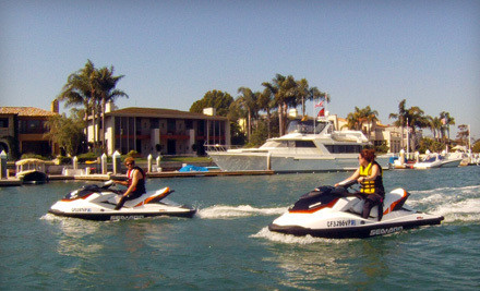 2-Hour Jet-Ski Rental for up to 2 People on a Single Jet-Ski (a $250 value) - Balboa Water Sports in Newport Beach
