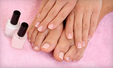 Shellac Hybrid Manicure (a $35 value) - Salon Dion in Marysville