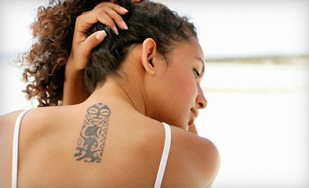 2 Tattoo Removal Sessions (a $200 value) - Camp Creek Body Art & Tattoo Removal in East Point