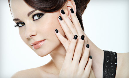 60-Min. Shellac Manicure and Pedicure Package (an $85 value) - Nails by Shuran in Memphis