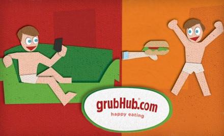 $20 Groupon to GrubHub - GrubHub in