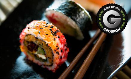 $20 Groupon to Tokyo Japanese Steakhouse & Sushi Bar - Tokyo Japanese Steakhouse & Sushi Bar in Lehi