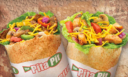 2-Visit Punch-Card (a $16 value) - Pita Pit in Tukwila