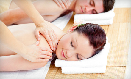 1-Hour Couples-Massage Lesson (a $175 value) - Mind & Body Day Spa in Alpharetta
