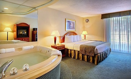 1 Night Stay For Two in a Jacuzzi Suite with a Romance Package - Quality Inn in Southfield
