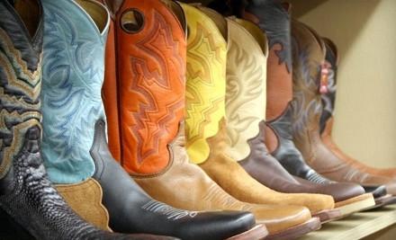 $50 Groupon to Dennards Farm & Western Wear - Dennards Farm & Western Wear in Sherman