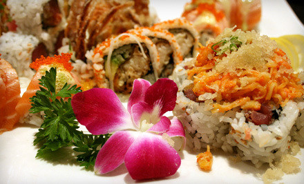 $30 Worth of Sushi, Japanese Hibachi, and Chinese Fare for Two - Sakura in Attleboro