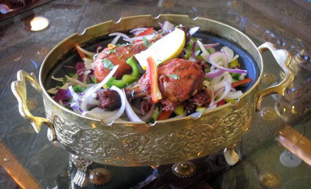 Indian Dinner for 2 - The Maharaja in Cambridge