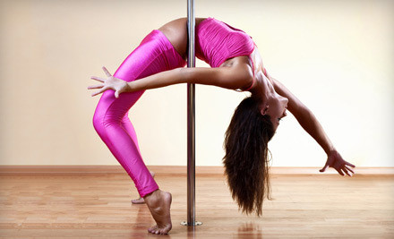 4-Class Pole-Dance Fitness Package (a $70 value) - Studio 3sixT in Denver