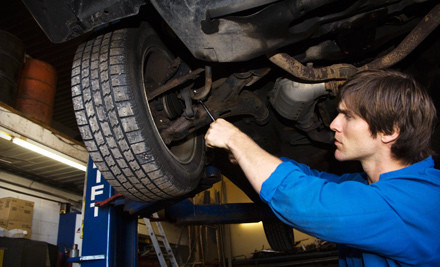 Front or Rear Brake Removal, Replacement and Installation (a $200 value) - Dulles Automotive Service Center in Sterling