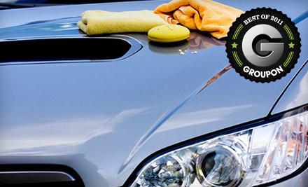 #5 Exterior Wash & Wax Detail Plus Aquapel for a Standard Passenger Car - Derek's Full Auto Detail & Hand Car Wash in Seattle