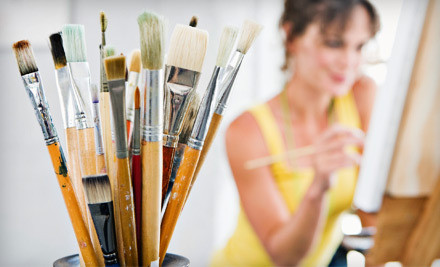 2-Hour BYOB Painting Class for Two (a $60 value) - Bali Studios in Cocoa Beach
