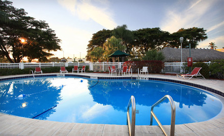 3-Night Stay for Two Adults and Up to Two Kids in a Poolside Double Room, Valid April 1June 30  - Clarion Hotel Fort Myers in Fort Myers