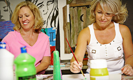 2.5-Hour BYOB Ladies' Night for 1 (a $40 value) - Round Rock Art Cooperative in Round Rock