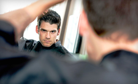 Classic Haircut or Head Shave (a $35 value) - Roosters Men's Grooming Center in Ashburn