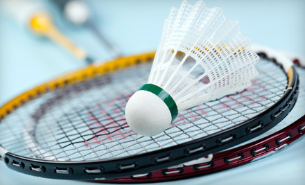 Badminton Outing for Two - Bay Badminton Center in Burlingame