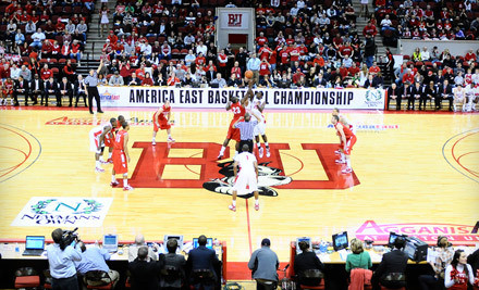 Boston University Men's and Women's Basketball vs. Vermont Catamounts on Wed., Feb. 1 at 5 and 7PM: Loge Seating - Boston University Basketball in Boston
