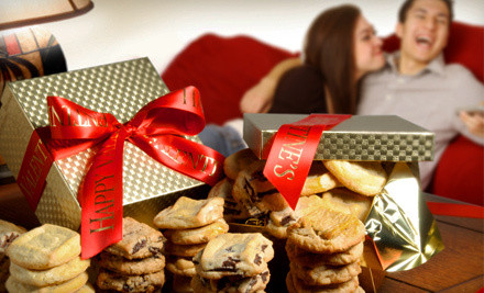Key To Your Heart Gift-Wrapped Valentine's Day Cookie Box (a $58 value) - Assorted Valentine's Day Cookies in