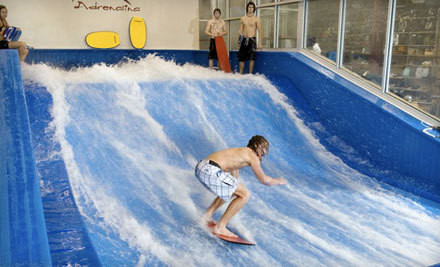 Two 30-Minute Indoor Surf Sessions on Mon-Fri ($40 Value) - Aqua Shop in Plano