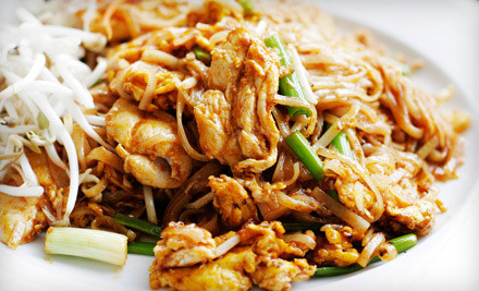 $40 Groupon for Russian and Thai Cuisine  - Stroganoff Restaurant in San Francisco