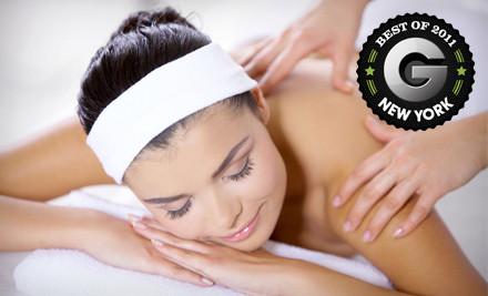 Choice of One 60-Minute Massage  - Spa Ja  in Manhattan