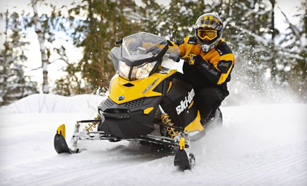 2-Hour Wilderness Snow Mobile Adventure for One, Valid Sunday-Friday (a $220 value) - Let's Ride Rentals in Stewartstown
