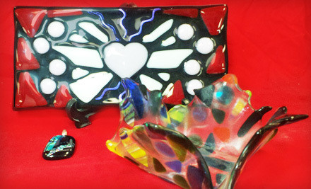 Beginner Glass-Fusing Class for 1 (a $75 value) - Glazed to Perfection in Eldersburg