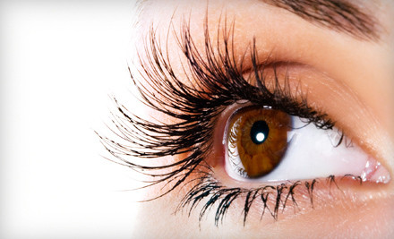 Full Set of Semipermanent Natural Eyelash Extensions (a $250 value) - Whip Lashe Studio in Chicago