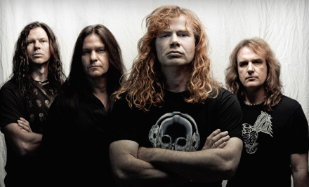 Gigantour featuring Megadeth with Motorhead, Volbeat, and Lacuna Coil on Thurs., Feb. 9 at 6:30PM: Lower-Level Seating - Gigantour featuring Megadeth with Motorhead, Volbeat, and Lacuna Coil in Auburn Hills