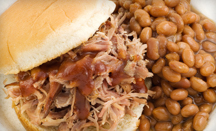 $20 Groupon for Sandwiches and Barbecue Fare  - Double Trouble BBQ in Austin
