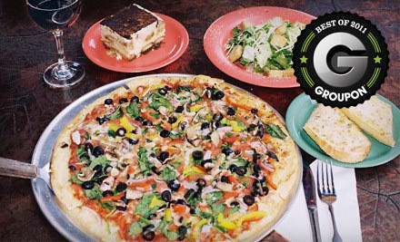 1000 Texan Trail Rd., Suite 100 in Grapevine or 1716 S Loop 288, Suite 110 in Denton - Palio's Pizza Cafe in Denton