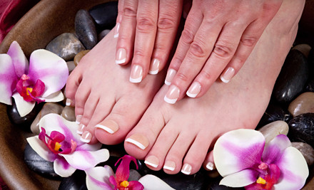 Spa Manicure, Pumpkin Exfoliating Facial, and 55-Minute Hot-Stone Massage (a $240 value) - Rejuve Nail & Skin Day Spa in Philadelphia
