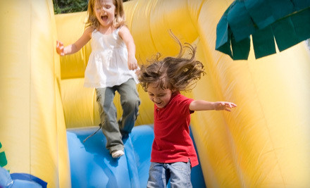 All-Day Bounce-House Rental and 2 Carnival Games - Celebrate Kids in