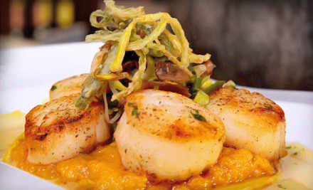 Dinner for 2 - The Wild Orchid Cafe in Annapolis