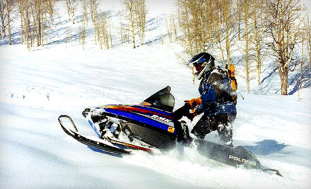 4-Night Stay for Two in a 1-Bedroom Cabin with Snowmobile or ATV Rental - The Cabins at Bear River Lodge in Summit County