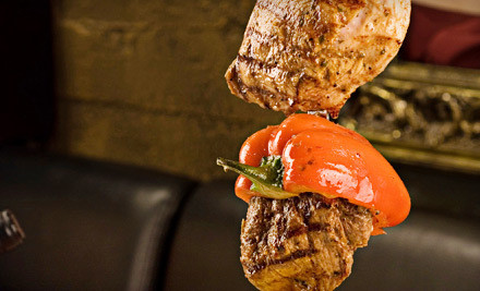Rodizio Dinner for Two Valid only Thurs.-Sun. from 5pm-11pm - Brazil Grill in Manhattan