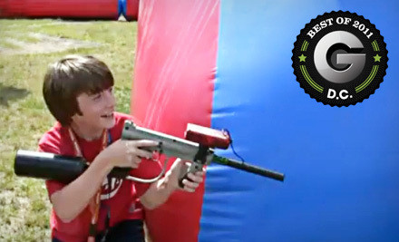 1 Hour of Unlimited Laser Tag for 4 People (a $100 value) - Pev's Paintball Park in Aldie