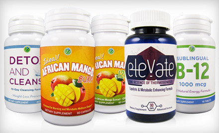 African Mango Burn, African Mango 1200, and Detox and Cleanse Weight-Loss Combo Pack (a $112 value) - TGL Nutrition in