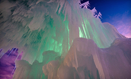 Visit for 2 - The Ice Castles at Silverthorne in Silverthorne