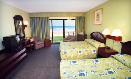 3-Night Stay for Up to Four in an Oceanfront Double Room, Valid Through March 31 - Makai Beach Lodge in Ormond Beach