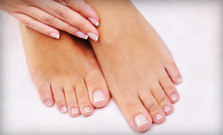 Mani-Pedi (a $62 value) - Blooming Nails in Wellesley