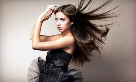 Manicure and Pedicure (a $34 value) - David James Salon and Day Spa in Brooklyn