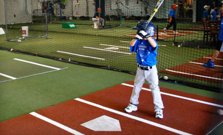 1-Hour of Batting Practice in Indoor Batting Cage (a $60 value) - Players Edge Baseball Academy in Boca Raton