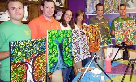 BYOB Canvas Painting Class - Sip & Stroke in Johns Creek