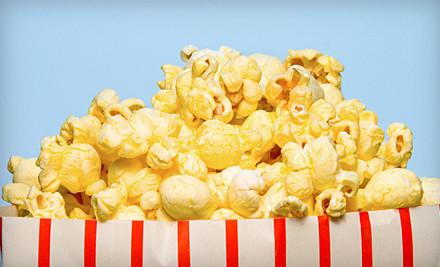 2 Movie Tickets, 2 Medium Popcorns, and 2 Medium Sodas (a $31 value) - BlueLight Cinemas 5 in Cupertino